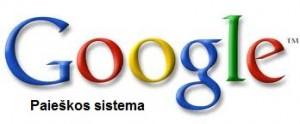 google paieškos sistema