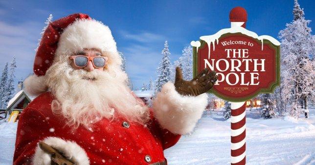 Kalėdų senelio adresas