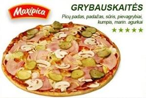 Grybauskaitės pica
